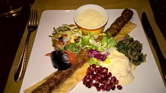 Ravintola Istanbul Oriental : Lamb Kebab