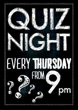 Quiz Night Not A Night To Miss Picture Of Kingsway