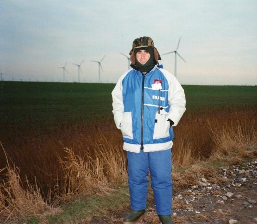 Ostseelounge Heiligenhafen: Heiligenhafen e geradores de energia eólica