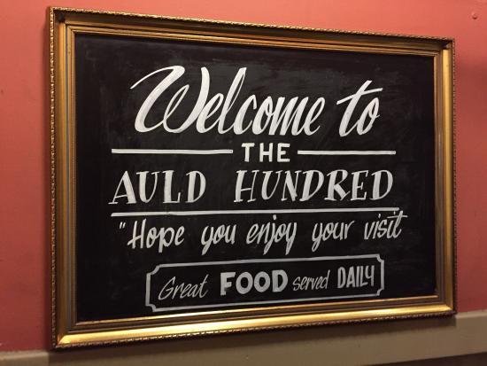 Auld Hundred: La visita ci è piaciuta.