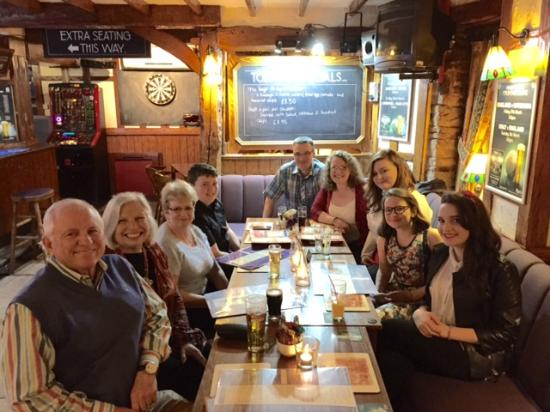 The Kings Arms: All the family enjoying a great time!