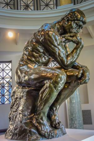 Palo Alto, CA: The Thinker at Cantor Arts Center Stanford University