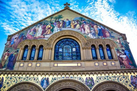 Palo Alto, Kalifornia: The Memorial Church of Stanford University