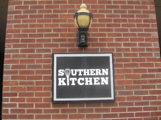 Menu Board On Sidelwalk Picture Of Southern Kitchen