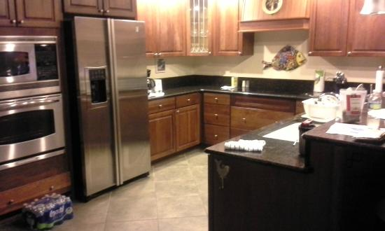 Benner, Saint Thomas: Great fully stocked kitchen