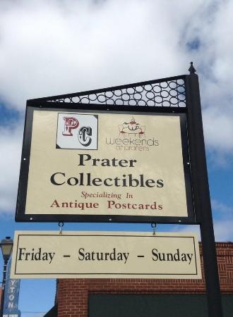 Prater Collectibles and Antiques