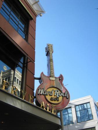 Hard Rock Cafe: Fachada