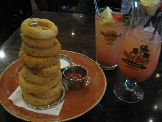 Hard Rock Cafe: Onion rings