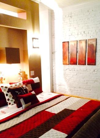 The 1857: Third floor - Master Bedroom