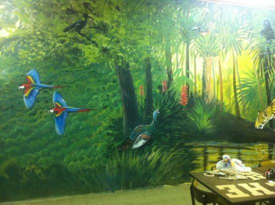 Flippin, AR: Beautiful murals by Duane Hada at Ceviche's