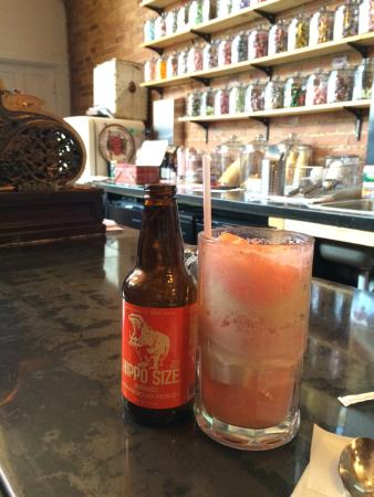 ANTIQOLOGY: Peach Soda Float