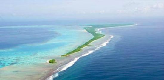 Атолл Адду: Aerial View-Herathera Island Resort