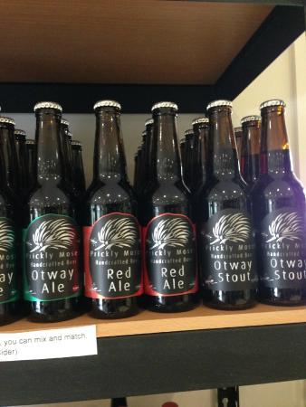 Barongarook, Australia: More beer...the bottled kind