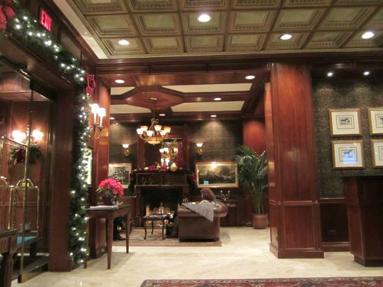 The Talbott Hotel Lobby