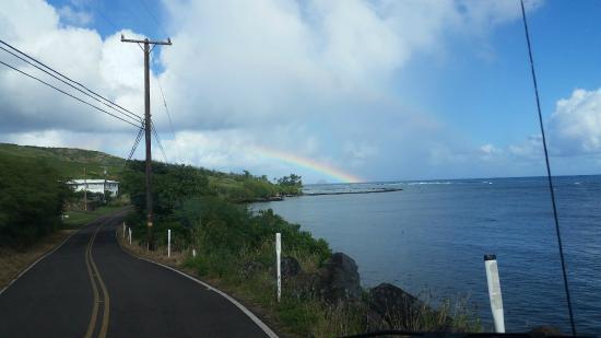 Molokai Outdoors : Double rainbow