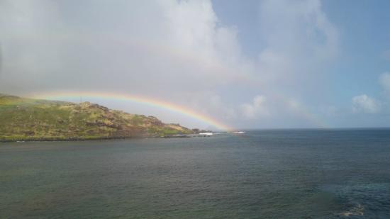 Molokai Outdoors : Rainbow again