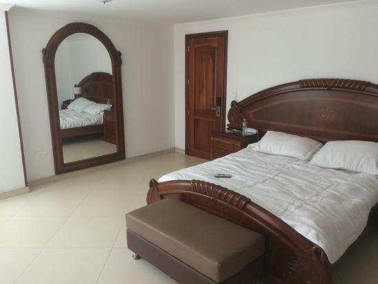 Choachi, Colombia: Costo del alojamiento por noche $262.000.oo COP