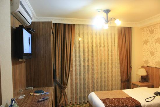 Best Town Hotel: Наш номер. маленький но уютный