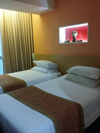 Ever Rich Hotel: twin comfortable beds