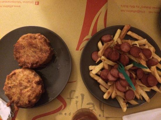 Sfilatino By Billy Bob's: Frittatina di Bucatini & Patatine fresche fritte