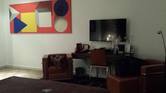 Bauhaus Hotel: Eames Suite