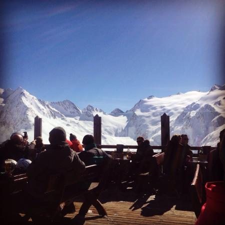Hohe Mut Alm: Great view for lunch