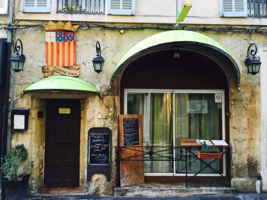 Le Comte d'Aix: Place of good provence fares