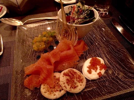 Restaurant Belvedere: Lovely salmon