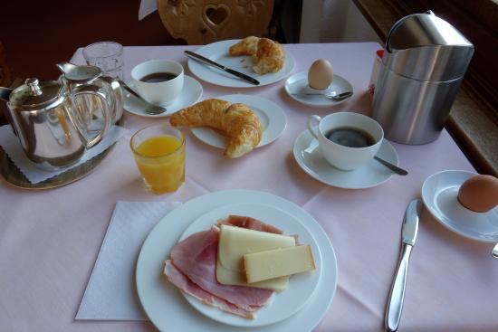 Hotel Languard: Breakfast
