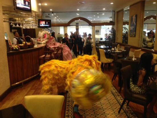 Lotus Garden Hotel: chinese new year at lotus gardens