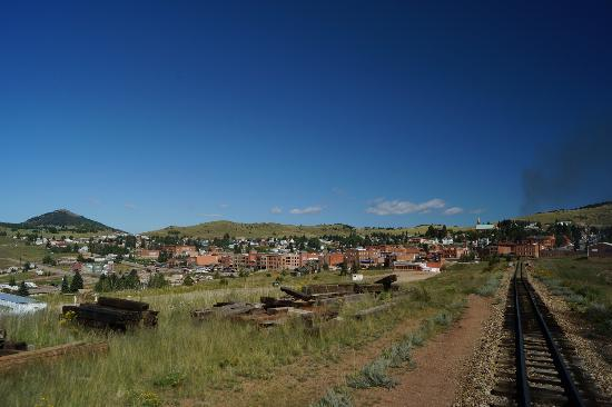 Cripple Creek Hospitality House & Travel Park: Cripple Creek View from the local steam locomotive train