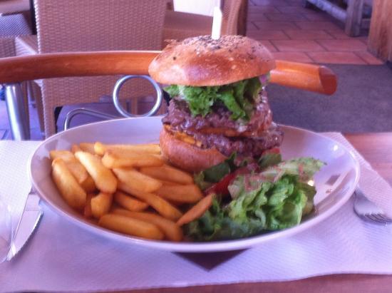 Restaurant Le Chaudron : Petit burger
