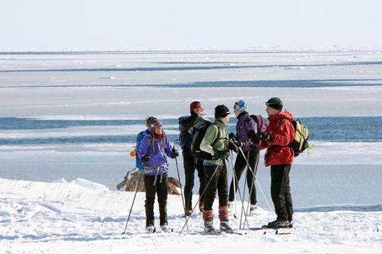 Ski de fond en bordure de mer picture of le meilleur des for Auberge la maison william wakeham