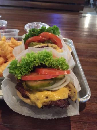 Shake Shack: Great burger with all vegetables inside