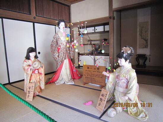会津武家屋敷, 家老の妻女と子供たち