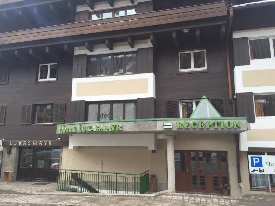 Lukasmayr : Voorkant hotel