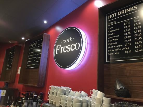 Caffe Fresco: new decor