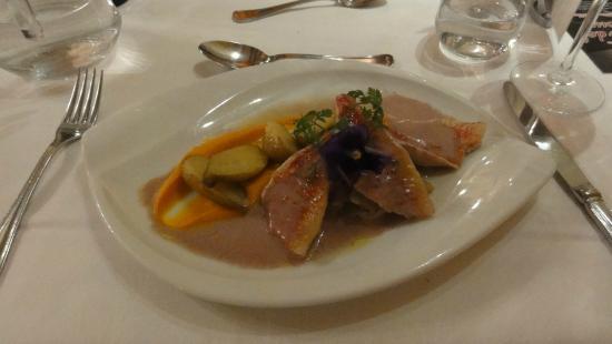 Hostellerie Clau del Loup: Dinner in the restaurant