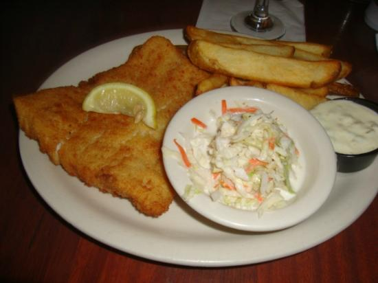 Inn on the Gulf: Fish and chips; the best in town