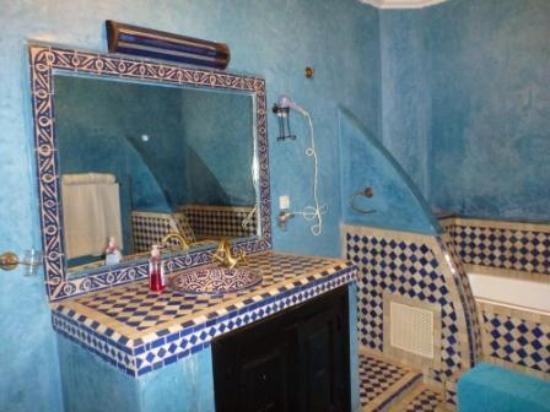 riad losra : Badezimmer