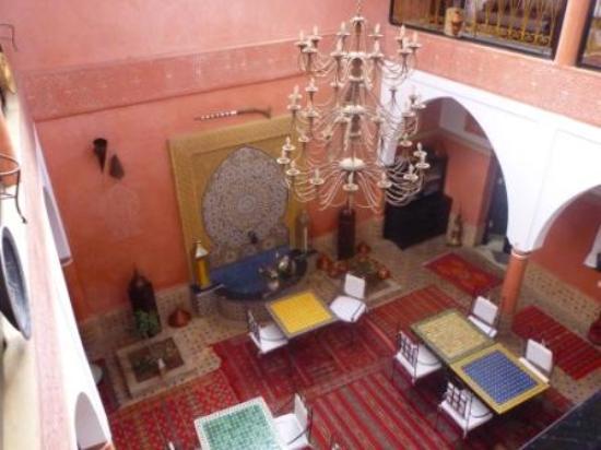Riad Losra: Innenhof