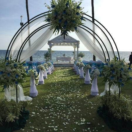 Phuket Marriott Resort Spa Merlin Beach Wedding Decoration