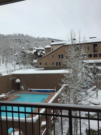 Woodrun Place: Pool area
