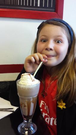 MJs American Diner : The Milkshakes are fantastic.