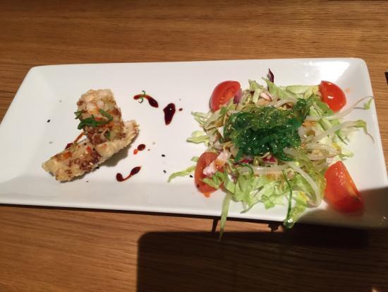 Miyama : antipasto del menù da 28euro