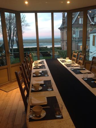 Boisfontaine : View from the breakfast table