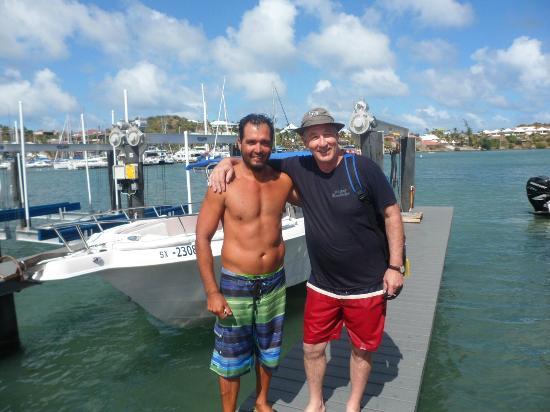 Captain Alan's Three Island Snorkeling Adventure: Captain Alan & Don