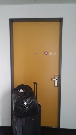 Hotel Allegra: My room