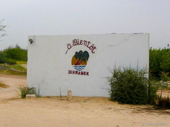 Hotel Diamarek on the beach: Main gate