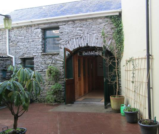 Kenmare Soap Shop: Walk through our courtyard to enter a wonderful experience for your senses.